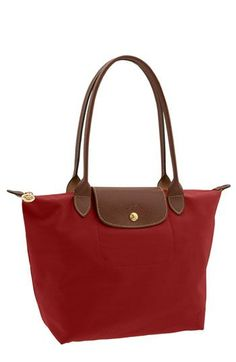 I have wanted one of these Longchamp bags since first seeing one in Paris many years ago.  You don't have to go to Paris to get one (but I would, of course); you can get it at Nordstrom.