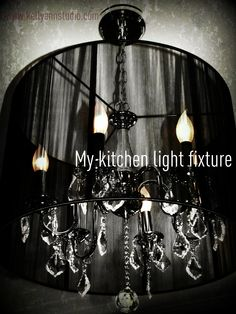 my light over my kitchen table- i love it!