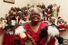 Merlene Davis: Collector of black Santas a kid at heart | Family | Kentucky.com