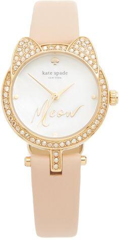 Kate Spade New York Meow Watch