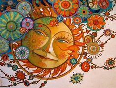 Солнце (David Galchutt) - Схемы вышивки - Severnoe_siyanie - Авторы - Портал «Вышивка крестом»