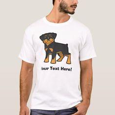 Cartoon Rottweiler T-Shirt   rottweiler art, rottweiler doberman mix, lab rottweiler mix #rottweilerpuppy #rottweilerclub #rottweilerlovers Rottweiler Puppies, Fitness Models, Lovers, Cartoon, Casual, Mens Tops, T Shirt, Engineer Cartoon, Tee