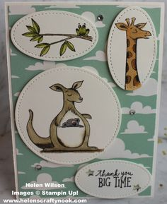 Animal Outing Stamp Set from Stampin Up! - Picture Gallery