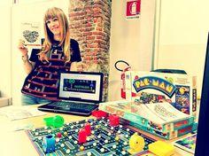 Interesting one by lamary_diaries #amiga500 #microhobbit (o) http://ift.tt/1M8mZi5 alla mia postazione di Retroedicola Videoludica al BitStory Milano! Blog maglietta Donkey Kong giochi in scatola e brochure personalizzate!!  #me #bitstory #milano #evento #blog #retrogaming #lamarydiaries #followme #donkeykong #pacman  #commodore #vic20 #videogames #apple #proud #fieradimestessa #instapic #instagood #instamood