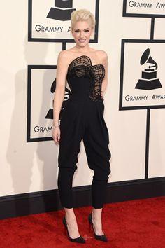 Red carpet: Los looks del Grammy 2015: GWEN STEFANI
