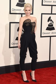 Red carpet: Los looks del Grammy 2015: GWEN STEFANI