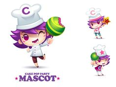 Cake Pop Party : Mascot | Flickr - Photo Sharing!