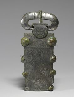 Belt Buckle Frankish (Artist) PERIOD 7th century (Early Medieval) MEDIUM tin-plated bronze