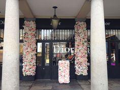 Dior Flowers, Flower Installation, Floral Tie, Design