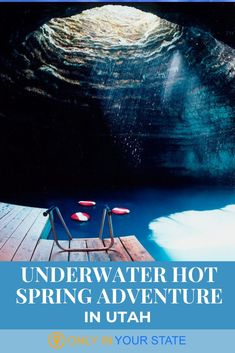 The Crater at Homestead Resort in Midway, Utah is a unique place where you can soak, snorkel and even scuba dive in mineral water. Best Swimming, Swimming Holes, Utah Vacation, Vacation Ideas, Road Trip Usa, Usa Roadtrip, Best Scuba Diving, Hidden Beach, Great Barrier Reef