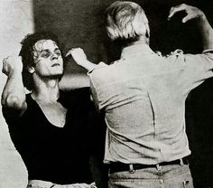Mikhail Baryshnikov & George Balanchine I swear that man has springs in his legs! Ballet Photos, Ballet Pictures, Mikhail Baryshnikov, Male Ballet Dancers, Rudolf Nureyev, George Balanchine, Vintage Ballet, City Ballet, Russian Ballet