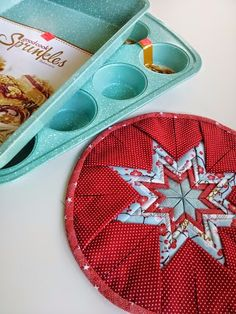 folded star trivet tutorial