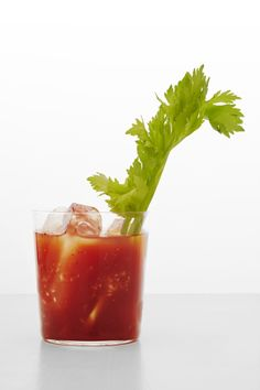 Bloody Marys with Basil Vodka Recipe