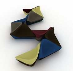Prisma Chairs De Alexander Lotersztain | 012家具 坐具多人 | Pinterest | An,  Furniture And Construction