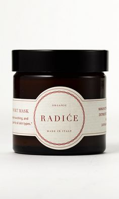 This organic mask can be used around the eyes or as a night cream and includes aloe, avocado, shea butter and honey, which give skin a fresh-looking glow.