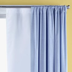 Room darkening shades if needed--need extra hardware? Kids Curtains: Childrens Blackout Window Liners in Curtains & Hardwares   The Land of Nod