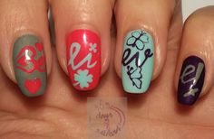 365 days of nail art : Day 319) Essence trend edition Beauty Beats