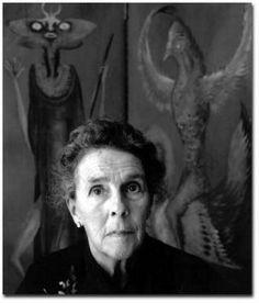 Leonora Carrington (1917-2011) Foto: Secretaría de Cultura del GDF