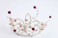 Several Tutorials : How to Make a Bead and Wire Tiara - The Beading Gem's Journal