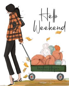 Hello weekend 🍂🍁 Let's pumpkin everything! Bon Weekend, Hello Weekend, Happy Weekend, Weekend Vibes, Weekender, Weekend Quotes, Sunday Quotes, Daily Quotes, Etsy Cards