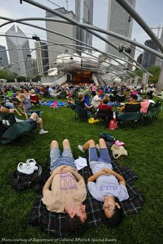 Go ahead and be a tourist in our awesome city. Millennium Park is amazing for that!