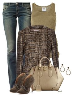 """""""Blazers and Booties"""" by michelled2711 ❤ liked on Polyvore featuring Replay, Michael Kors, RED Valentino, Burberry, Pour La Victoire and Peris Complementos"""