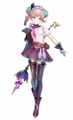 View an image titled 'Lydie Render' in our Atelier Lydie & Suelle: The Alchemists and the Mysterious Paintings art gallery featuring official character designs, concept art, and promo pictures. Female Character Design, Character Design Inspiration, Character Concept, Character Art, Concept Art, Girls Characters, Fantasy Characters, Female Characters, Anime Characters