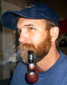 All men should have bushy mustaches. Beard No Mustache, Hairy Men, Bearded Men, Man Smoking, Pipe Smoking, Cigar Men, Red Beard, Awesome Beards, Beard Styles