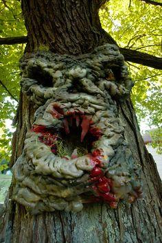 Tree Monster by MrEBlack.deviantart.com on @deviantART