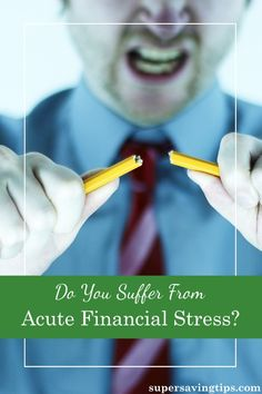 The holidays are prime time to be worried about money, but if you suffer from Acute Financial Stress, you may need some help in dealing with your troubles.