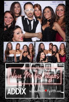 Viva Mr. Las Vegas!! #ihrtmemorybox #photobooth