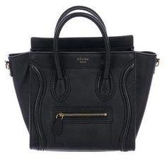 e317c3e0f9ec4 Celine Nano Luggage Tote Celine Nano Luggage, Designer Bags Online, Celine  Handbags, Handbags