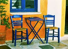 Outdoor seating: with outdoor seating for two...