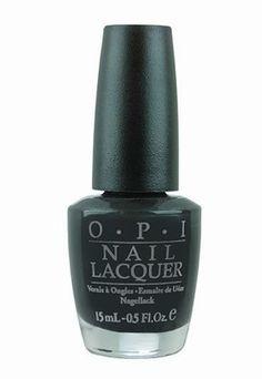 O.P.I black nail polish