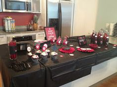 This would also be good for a birthday party. My girls love vampires and wolves so its perfect.                       The Vampire Diaries Finale Party