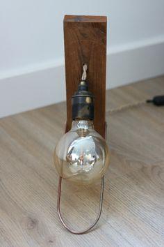 Onze kleine telg #raw #light #industrial #wood #mdlight