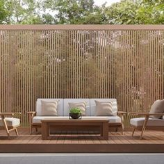 Pergola Screens, Outdoor Screens, Deck With Pergola, Privacy Wall On Deck, Patio Privacy Screen, Outdoor Spaces, Outdoor Living, Garden Screening, Wooden Screen