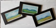 One always feels refreshed from a day spent in the mountains. - Michelle Marttila New collection found at #thewhitebrickhouse #natureart #coloryourhomehappy #michellemarttila happyheART Bedford Va, White Brick Houses, Mountain Art, Happy Heart, Joy, Frame, Painting, Color, Picture Frame