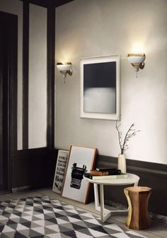 HANNA | WALL SCONCE FIXTURE | DELIGHTFULL - UNIQUE LAMPS by @delightfulll