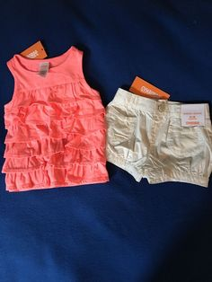 NWT Gymboree 12-18 Months Girl's Two Piece Summer Outfit Set  #Gymboree