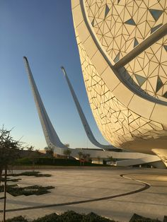 Modern Mosque at Doha Education Centre