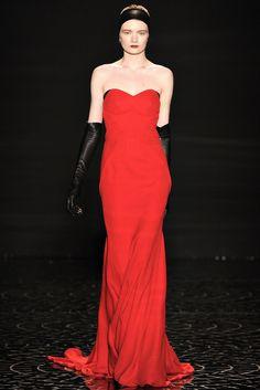 Pamella Roland Fall 2013 Ready-to-Wear Fashion Show