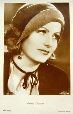 """Greta Garbo - She """"Vanted"""" to be alone. The wicked Queen in Disney's """"Snow White"""" was patterned on her."""