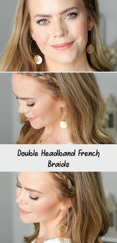 Double Headband French Braids | MISSY SUE #summerhairstylesVsco #summerhairstyles2019 #summerhairstylesForBoys #summerhairstylesAfricanAmerican #summerhairstylesForTeens # cute Braids with headbands Double Headband French Braids - Lina's Blog