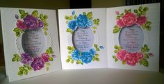 Altenew vintage roses stamp set makes it so easy to make beautiful cards!