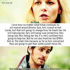 Emma Swan And Hook Killian Jones Once Upon a time ouat Once Upon A Time Funny, Once Up A Time, Ouat Quotes, Ouat Characters, Fact And Opinion, Between Two Worlds, Abc Shows, Killian Jones, Vampire Academy