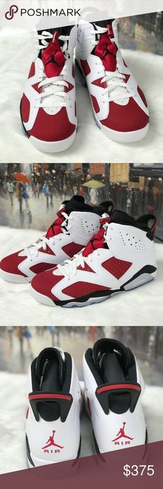 wholesale dealer e74c4 80804 ❌sold❌ air jordan 6 retro carmine nwt
