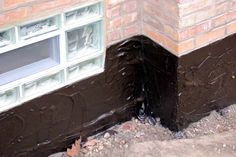 Whereas interior drain tile is sort of the jack-of-all-trades of the basement waterproofing business, exterior drain tile does one thing and does it… Best Flooring For Basement, Basement Stairs, Basement Repair, Basement Ideas, Brick Face, Wall Waterproofing, Drain Tile, Interior Design Colleges