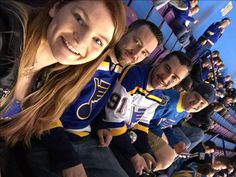 While everyone else is working our are enjoying their together! Lets go Blues!