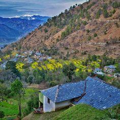 Beautiful Chamba Valley Himachal Pradesh India